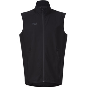 Bergans M's Ramberg Softshell Vest Black/Solid Charcoal